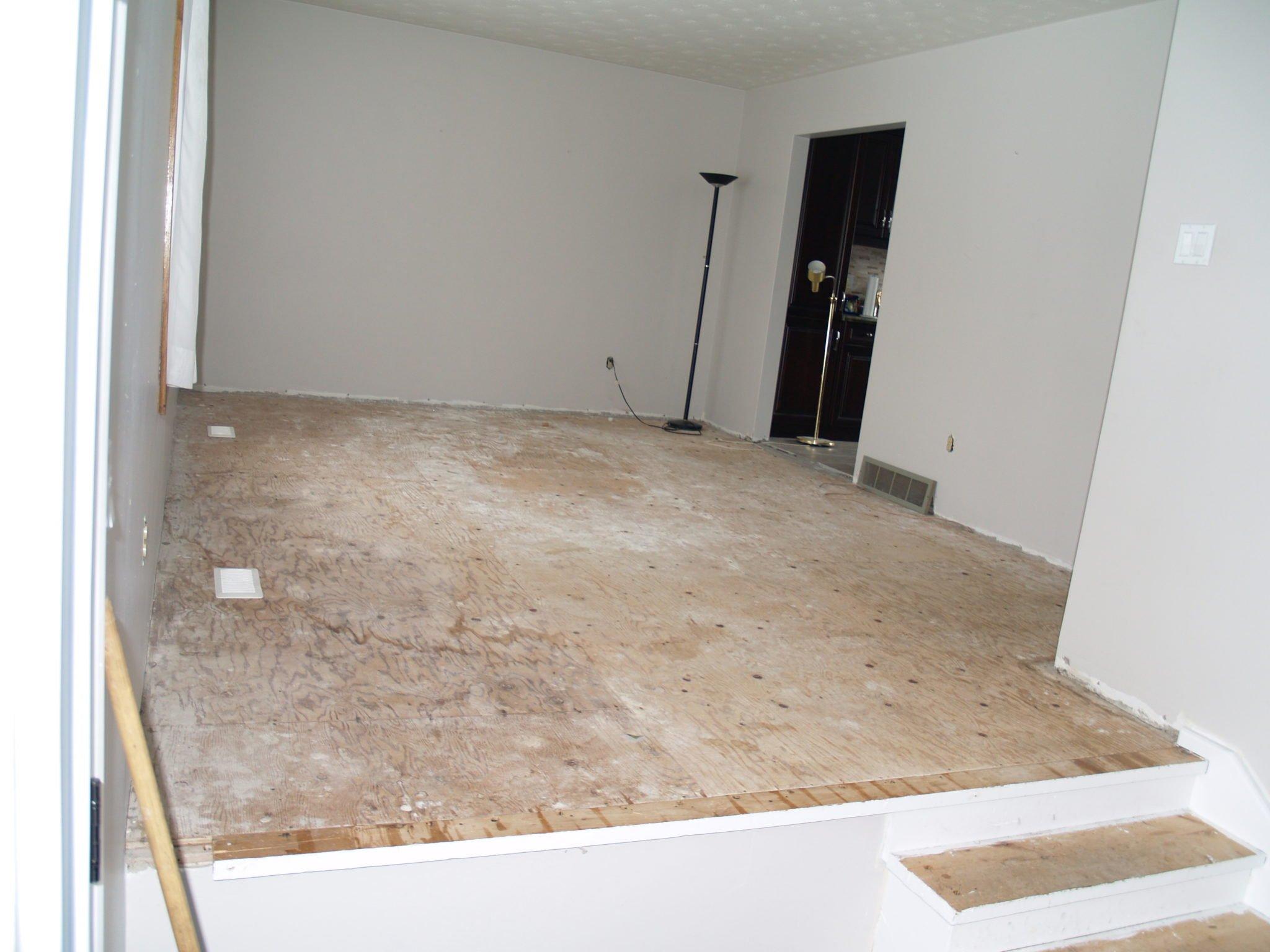 Floor - Stairs - Living room